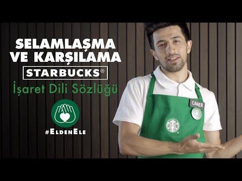 SELAMLAŞMA VE KARŞILAMA | Starbucks İşaret Dili Sözlüğü | #EldenEle