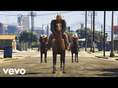 OLD TOWN ROAD - GTA 5 (Official Music Video)