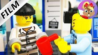 LEGO historyjki | Przyjęcie nowego więźnia do celi