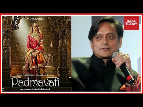 Shashi Tharoor Questions Rajasthan Royals Stand In Padmavati