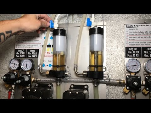 How to Clean A Long Draw Bottoms Up Draft Beer System