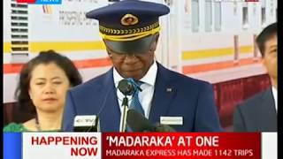 'Madaraka' at One: SGR marks one year in operation,has recorded over 1 billion in revenue