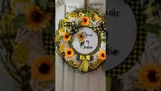 You are my Sunshine Wreath