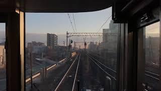【130km/h】|JR西日本|新快速  前面展望  芦屋→尼崎