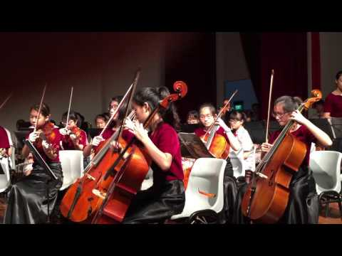 The NJC Orchestra plays Red Cliff for CNY 2016