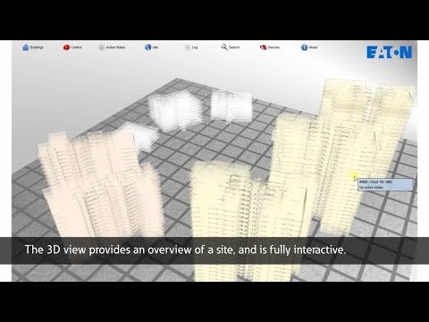 EFGVS Graphical Visualisation Software for Eaton addressable fire systems - Demo 1min 15secs