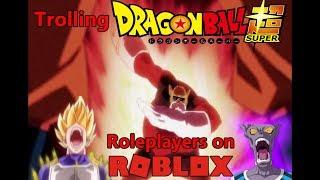 ROBLOX Üzerinde trollemek Dragon Ball Z/Süper/GT/AF Roleplayers
