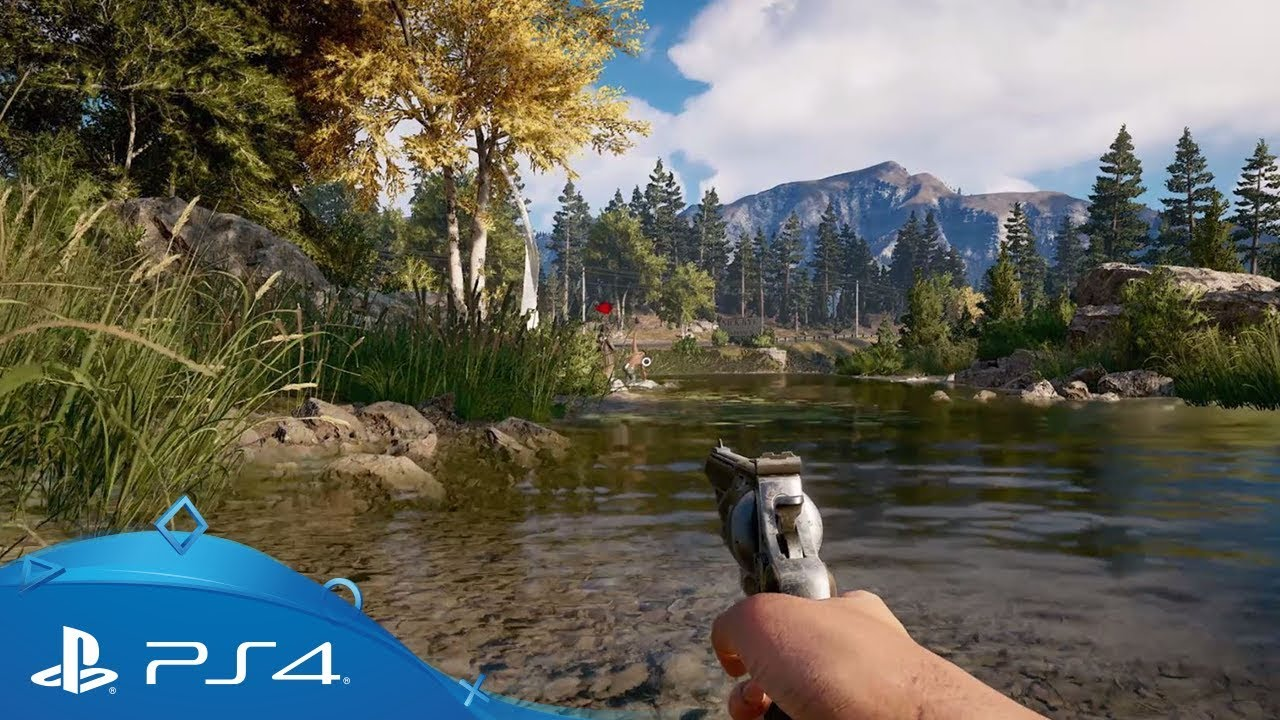 Far Cry 5 Extended Gameplay Walkthrough Ps4 Youtube