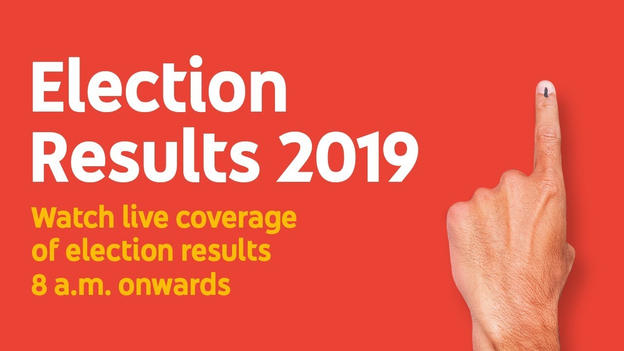 Mega Coverage on Election Results 2019 by DD News