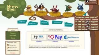 Money-Birds РЕАЛЬНЫЙ ЗАРАБОТОК В Интернете!!(19.08.2015)