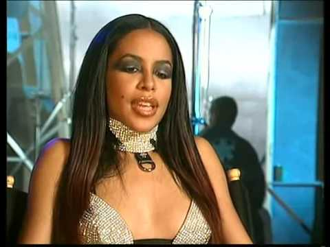 Aaliyah Try Again (Behind The Scenes)  With Timbaland,Jet Li and Blackground Records.