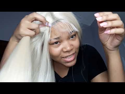 platinum amazon lace front wig 40$ ( #REVIEW )