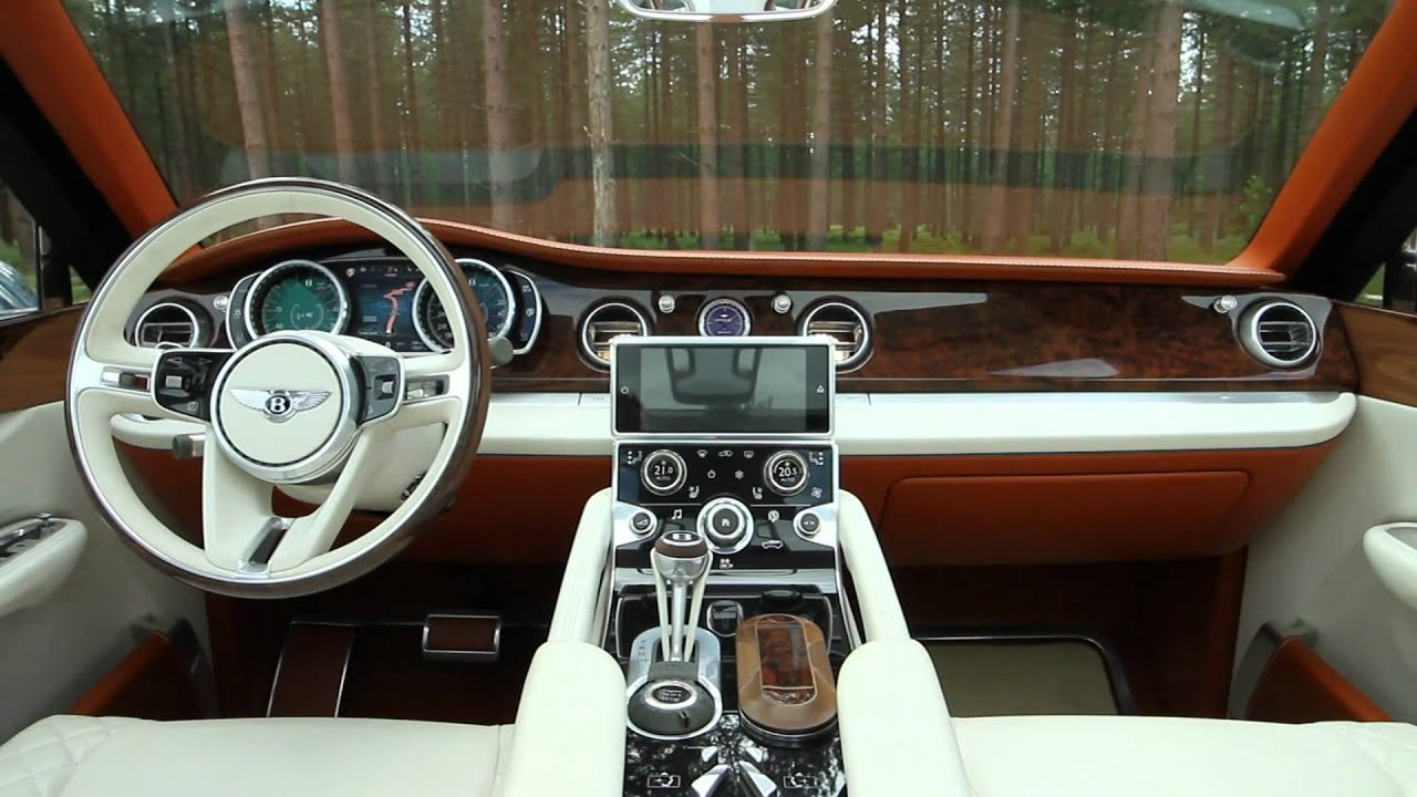Bentley Exp 9 F Concept Suv Autoblog Youtube