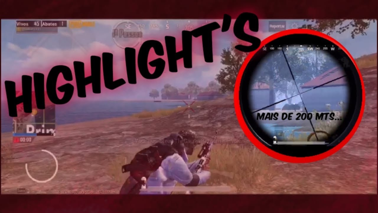FIRST HIGHLIGHTS IPHONE XR / SIX FINGERS MOBILE - PUBG MOBILE