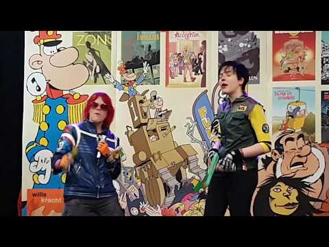 DCC 2018 // Party Poison & Fun Ghoul Cosplay // Na Na Na - My Chemical Romance