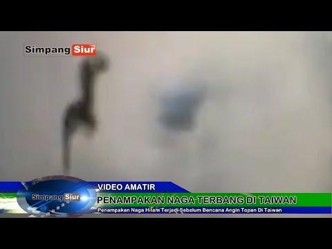 Video Amati Penampakan Naga Terbang Sebelum Bencana Angin Topan Soudelor Di Taiwan
