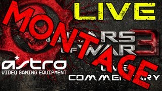 BEST MOMENTS MONTAGE - Gears of War 3 Live Commentaries