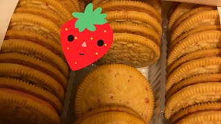 Good Humor Strawberry Shortcake Oreos