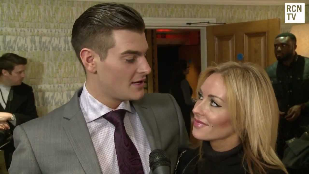 Dancing On Ice Matt Lapinskas & Brianne Delcourt Interview ...