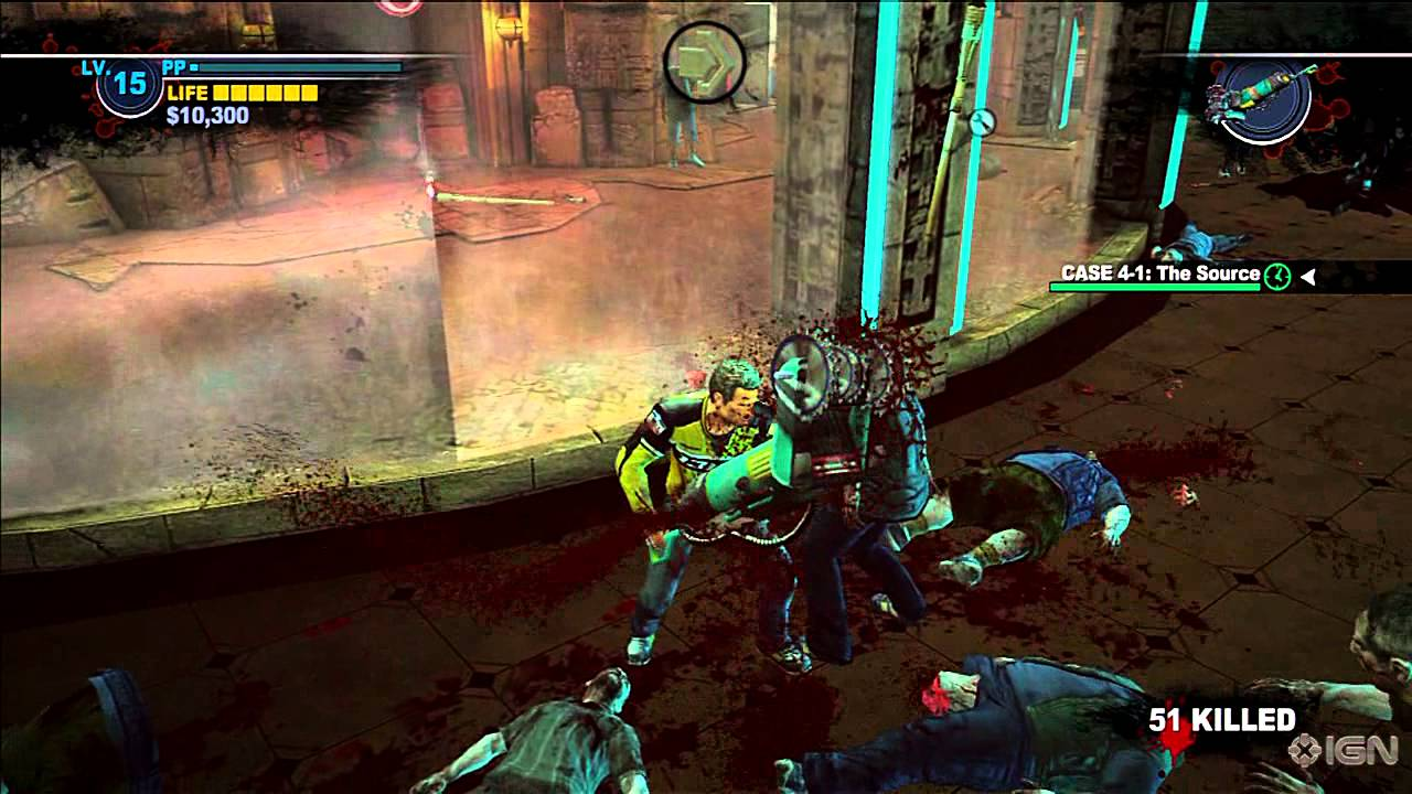 Dead Rising 2 Xbox 360 Gameplay Vacuum Saw Youtube