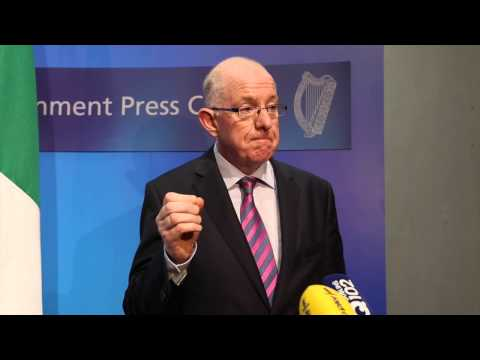 Minister Charlie Flanagan on Commission of Investigation into Mother & Baby Homes