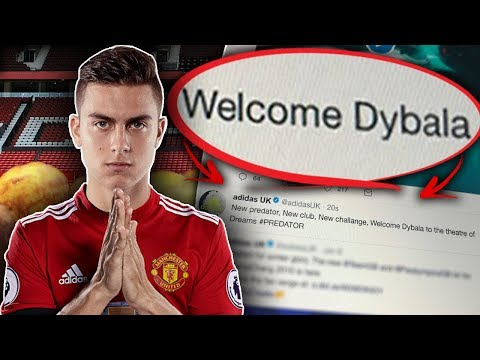 REVEALED: Have Adidas LEAKED Paulo Dybala To Manchester United?! | Sunday Vibes