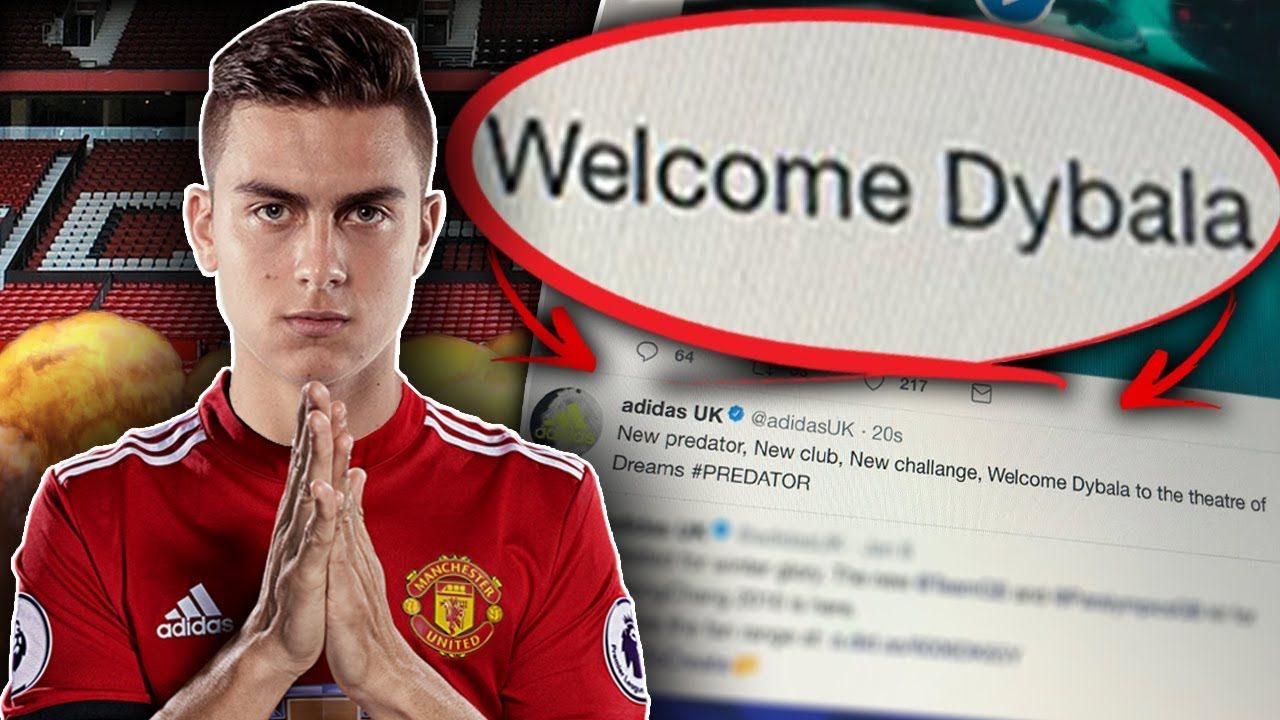 383abd115 revealed  have adidas leaked paulo dybala to manchester united
