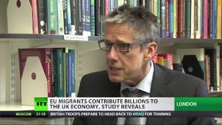 EU migrants contribute billions to UK economy