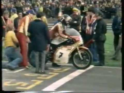 Race of the year 1977 - Pat Hennen-Mick Grant-Barry Sheene