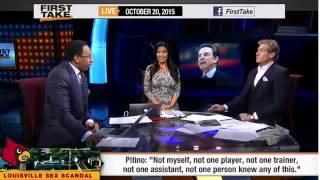 ESPN First Take Official – Stephen A Smith on Louisville Basketball Sex Scandal [www.MangaUp.Net]