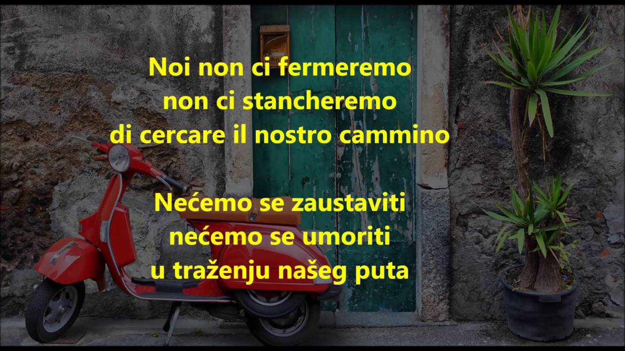 Eros Ramazzotti Terra Promessa Prevod Na Srpski