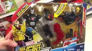 "MARVEL ""Super Hero Mashers"" Electronic Marvels War Machine Figure - 6 Inches - Toy Review"