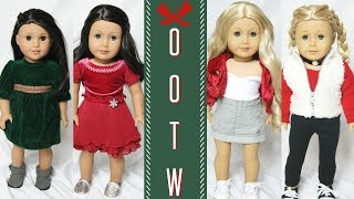 DOLL HOLIDAY OUTFIT OF THE WEEKS
