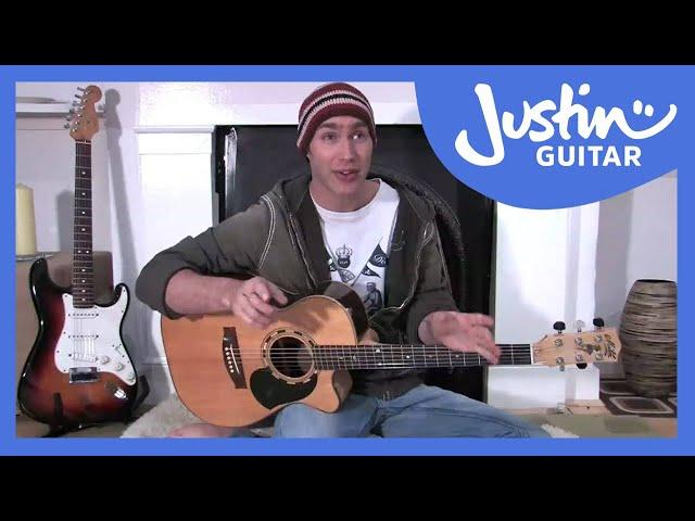 The E Chord Justinguitar