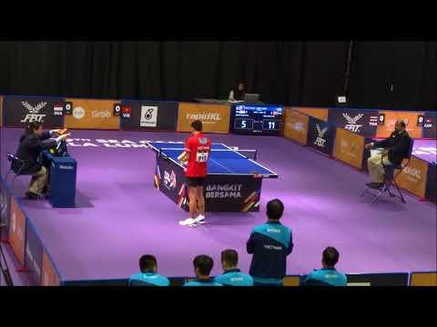 Sea Games 2017 Table Tennis, Men Team Vietnam V Indonesia 1st Single