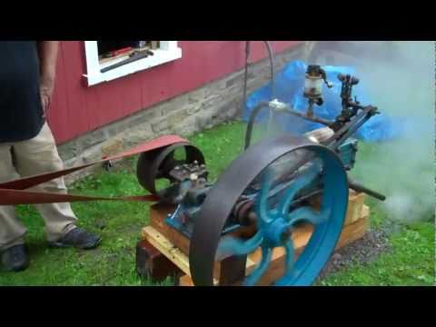Making Ice Cream with Steam Power