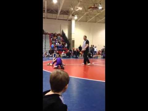 Owen Carlson- Huskie Wrestling- St. John's