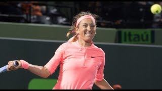 2018 Miami Second Round | Victoria Azarenka vs. Madison Keys | WTA Highlights