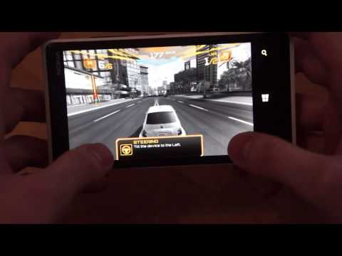 Quick look at Asphalt 7 Heat for Windows Phone