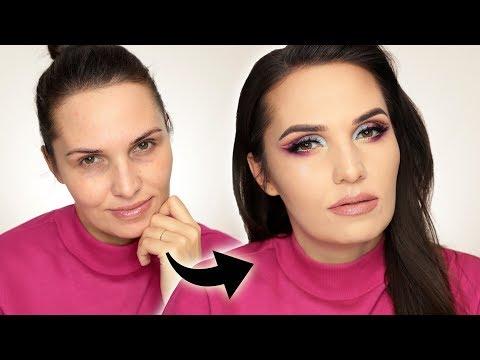 Instagramowy Makijaż Kosmetykami Z Drogerii Przegadany Tutorial