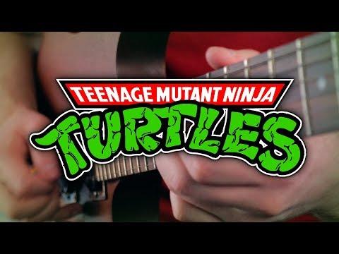 Teenage Mutant Ninja Turtles Theme On Guitar