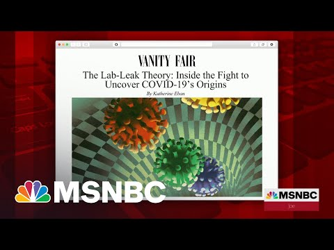Lab-Leak Theory: No Consensus On Covid-19 Origins, Says Vanity Fair Writer