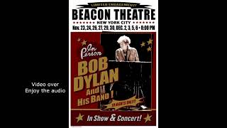 Bob Dylan Pay In Blood Beacon Theatre New York 3 December 2019
