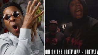 NU JERZEY TWORK Lost His F@$K!%& MIND!!! vs CHILLA JONES!! SMACK #URLTVAPP CLASSIC BATTLE! REACTIONS