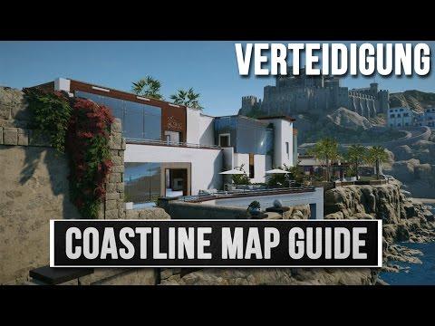 Rainbow Six Siege - Küste (Coastline) Map Guide - Verteidigung