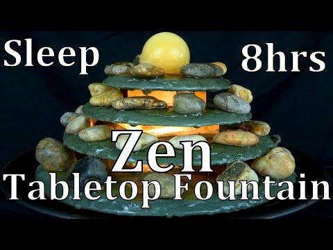 8hr Zen Tabletop Water Fountain ASMR