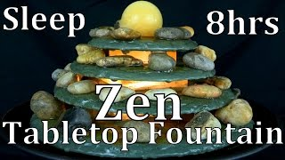Repeat youtube video 8hr Zen Tabletop Water Fountain