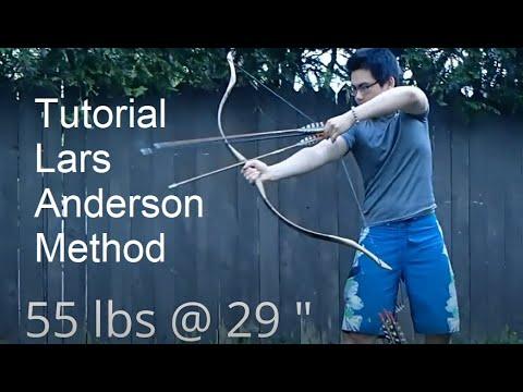 Tutorial - How Lars Andersen Shoots Arrows fast - New Archery