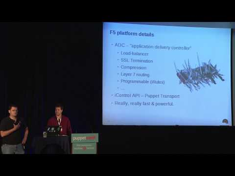 Managing F5 LTM with Puppet - Matthew Carpenter and Bret McMillan of Red Hat