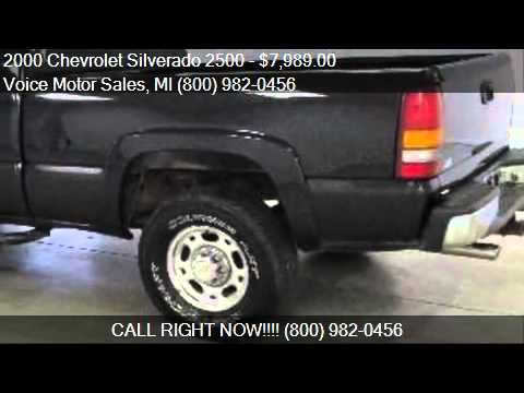 2000 chevrolet silverado 2500 for sale in kalkaska mi for Voice motors kalkaska michigan